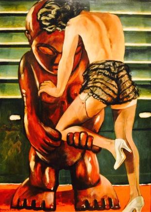 La mujer en el idolo — Francis Picabia