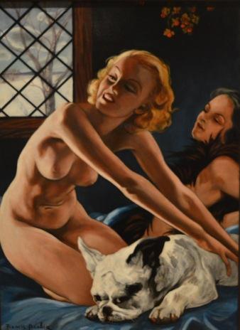 Femmes au bulldog — Francis Picabia