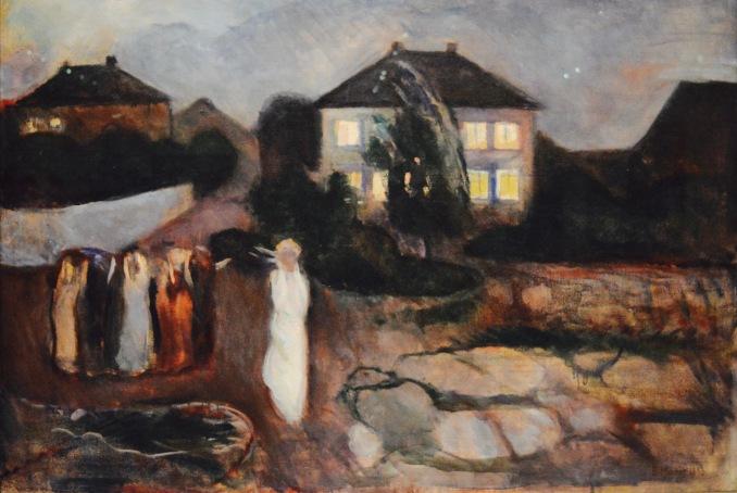 The Storm — Edvard Munch