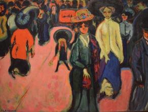 Street, Dresden — Ernest Ludwig Kirchner