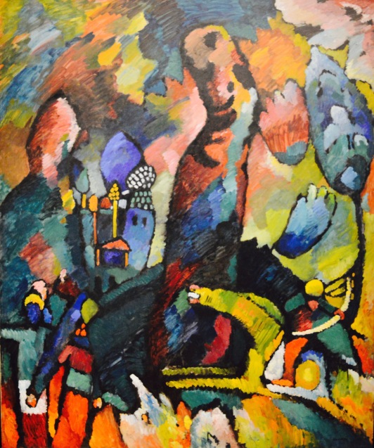 Picture with an Archer — Vasily Kandinsky