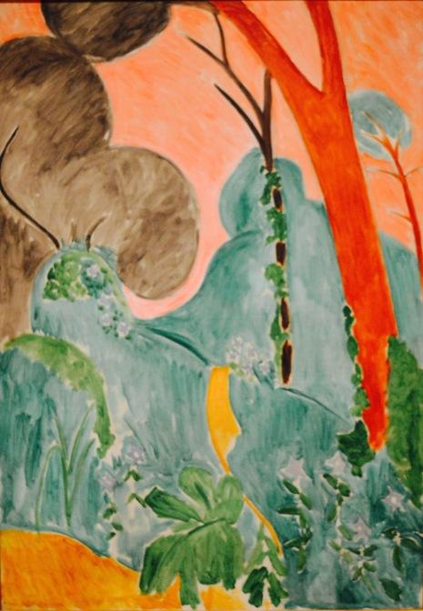 Periwinkles / Moroccan Garden — Herni Matisse