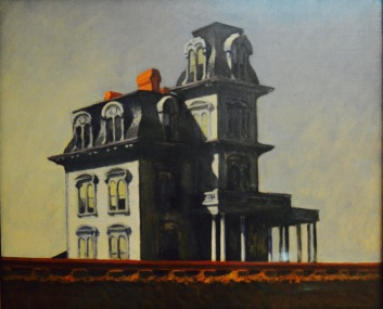 House by the Railroad — Edward Hopper