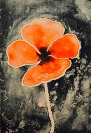 Poppy — Ruth Asawa