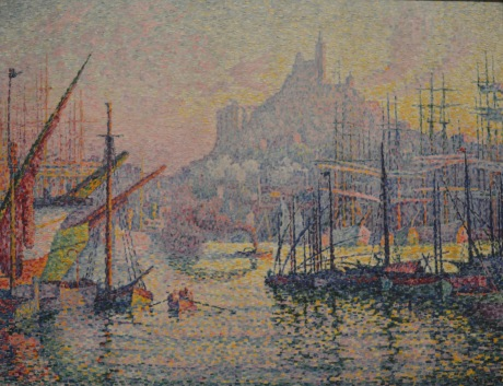 Notre-Dame-de-la-Garde — Paul Signac