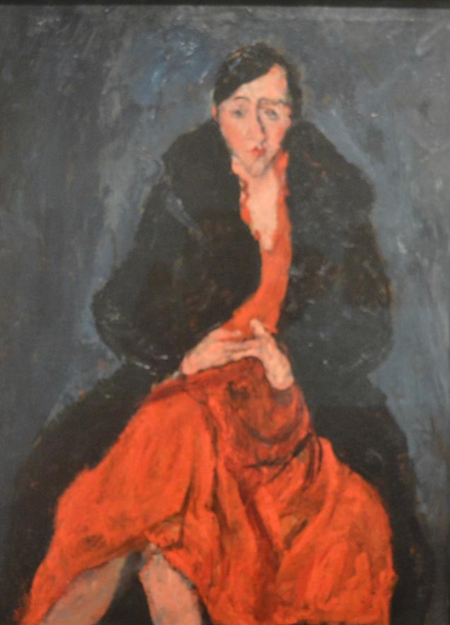 Portrait Of Madeleine Castaing — Chaim Soutine