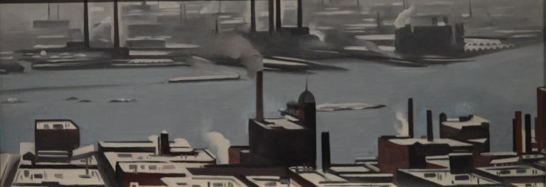 East River From The Shelton Hotel — Georgia O'Keeffe
