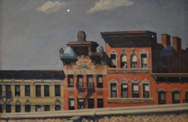 From Williamsburg Bridge — Edward Hopper