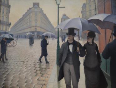 Paris Street; Rainy Day — Gustave Caillebotte