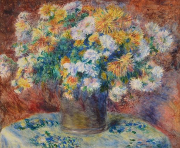 Chrysanthemums — Pierre-Auguste Renoir