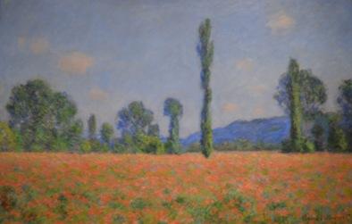 Poppy Field (Giverny) — Claude Monet