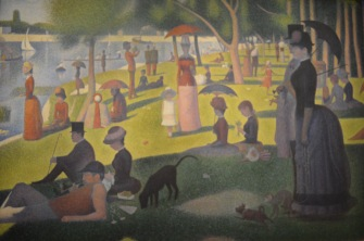 A Sunday Afternoon on the Island of La Grande Jatte — Georges-Pierre Seurat