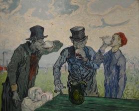 The Drinkers — Vincent van Gogh