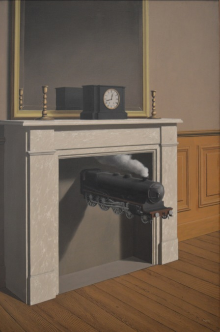 Time Transfixed — Rene Magritte