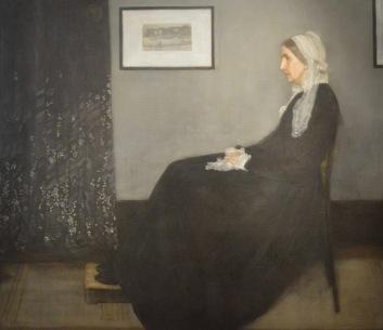 Arrangement in Grey & Black No. 1 (Whistler's Mother) — James McNeill Whistler