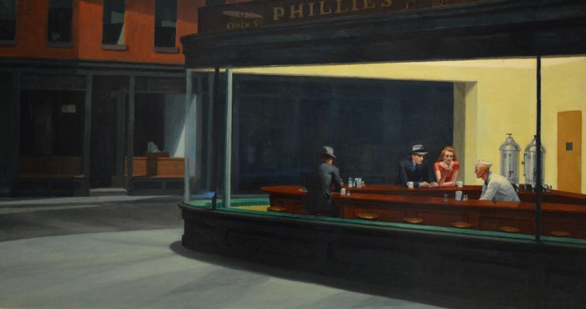 Nighthawks — Edward Hopper