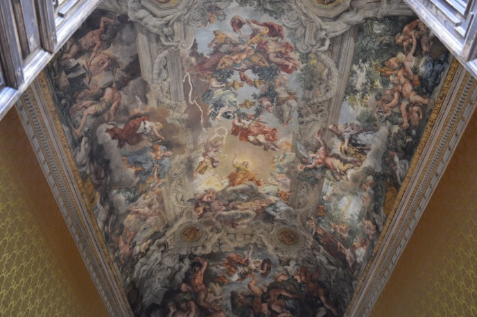 Inside the Palazzo Corsini