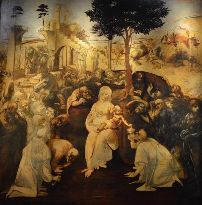 Unfinished Michelangelo work