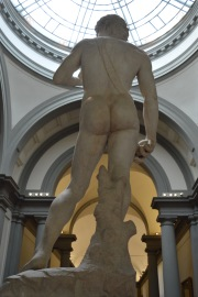 David's butt