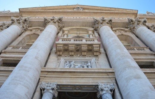 The papal porch