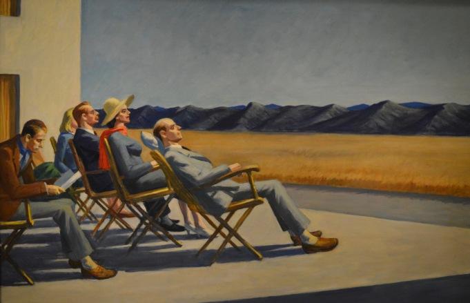 People in the Sun — Edward Hopper