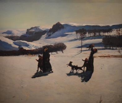 Snow Fields — Rockwell Kent