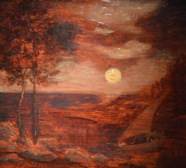 Moonlight, Indian Encampment — Ralph Albert Blakelock