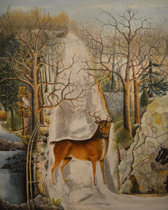 Stag at Echo Rock — Unidentified Artist
