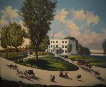 Burnham's Hotel — Unidentified Artist