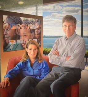 Portrait of Bill & Melinda Gates
