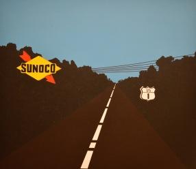 US Highway 1 — Allan D'Arcangelo