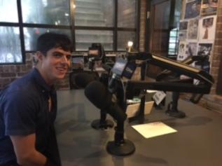 "Inside ""The Tony Kornheiser Show"" podcast studio at Chatter"