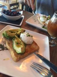 Avocado Toast at Slipstream in DC